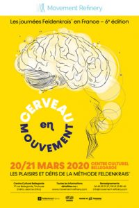 Poster of Feldenkrais Days in Toulouse by Movement Refinery
